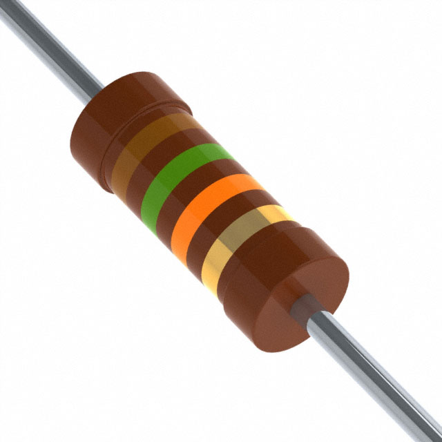 Carbone Comp 1//2W 15 m CBT50J15M TE Connectivity//Neohm Résistance